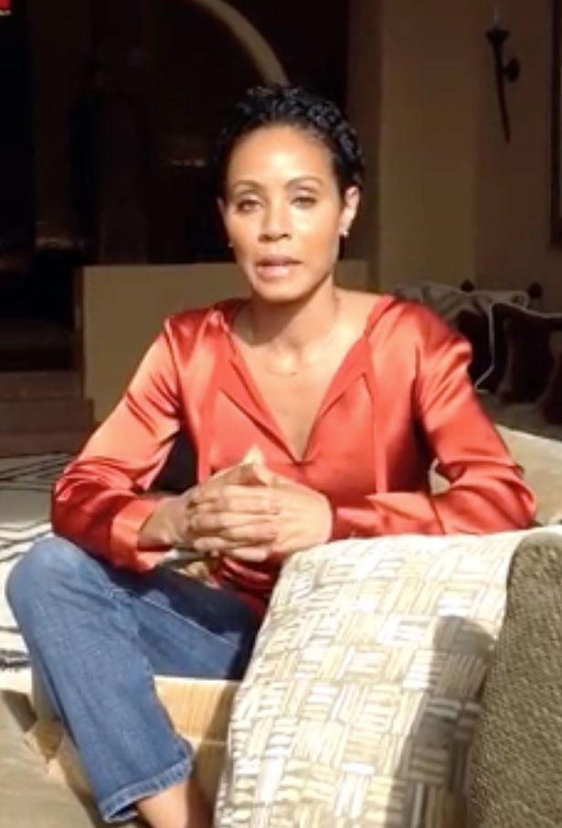 Jada Pinkett-Smith.
