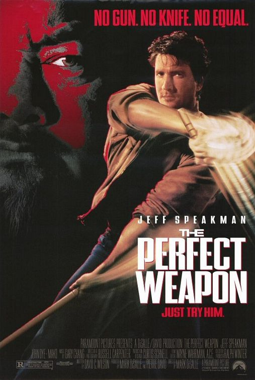 One sheet for the cult classic,  The Perfect Weapon  (1991)