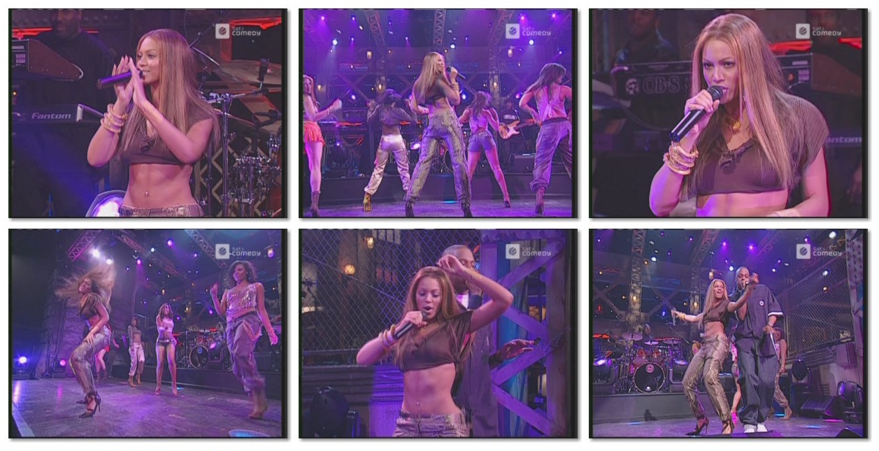 Scenes from Beyonce's solo debut on  Saturday Night Live , 2003. Video unavailable for screening.