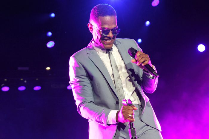 Maxwell live at Essence Fest, 2016.