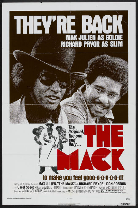 Reissue poster of  The Mack,  1973.