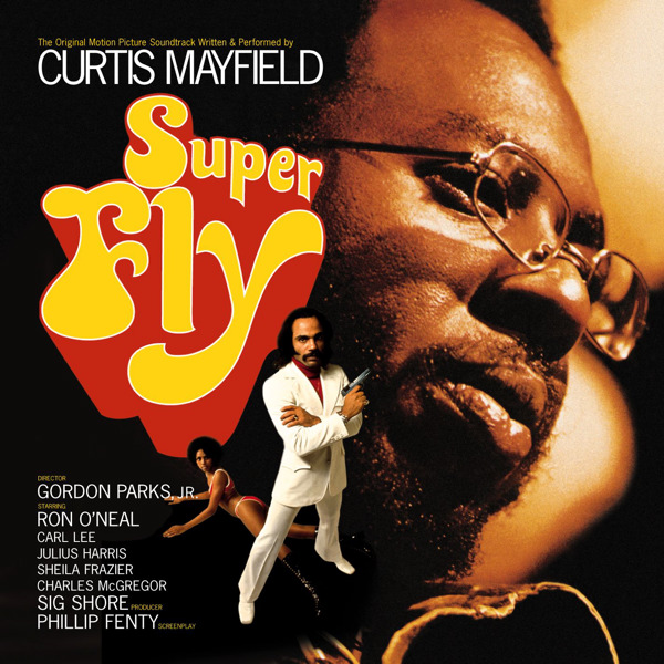 Curtis Mayfield's original soundtrack album.