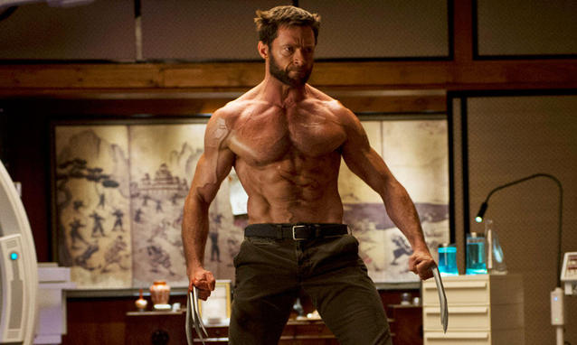 The Wolverine - peak Jackman.