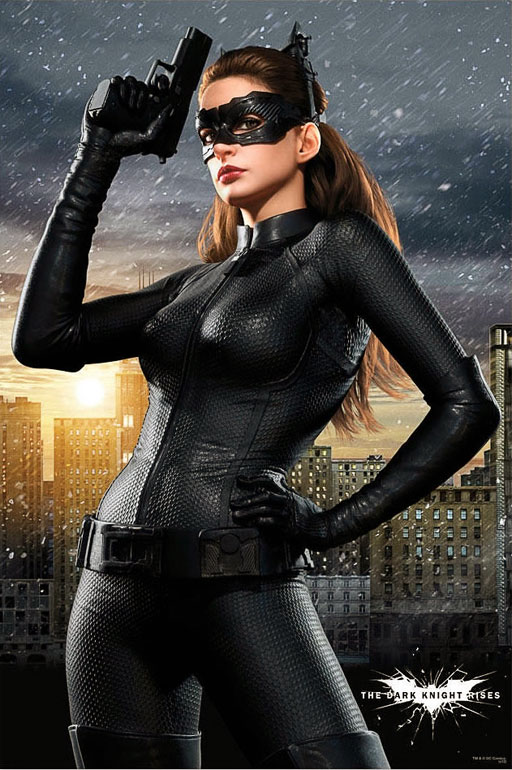 Catwoman in  The Dark Knight Rises .