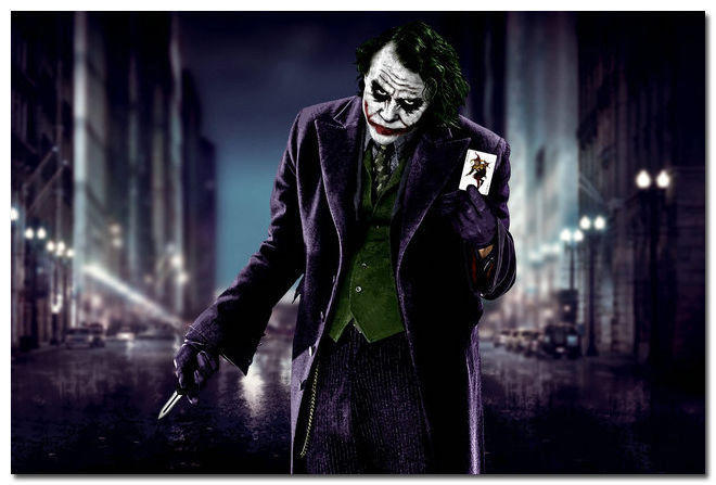 The Joker's Wild in  The Dark Knight .