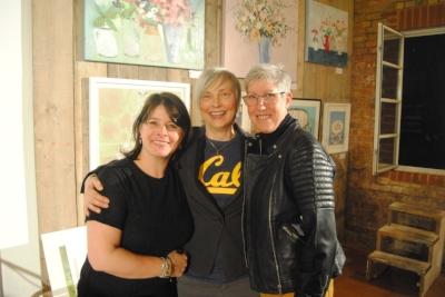 Prof Jayne Raisborough (girl I met on a train) & her partner Anne