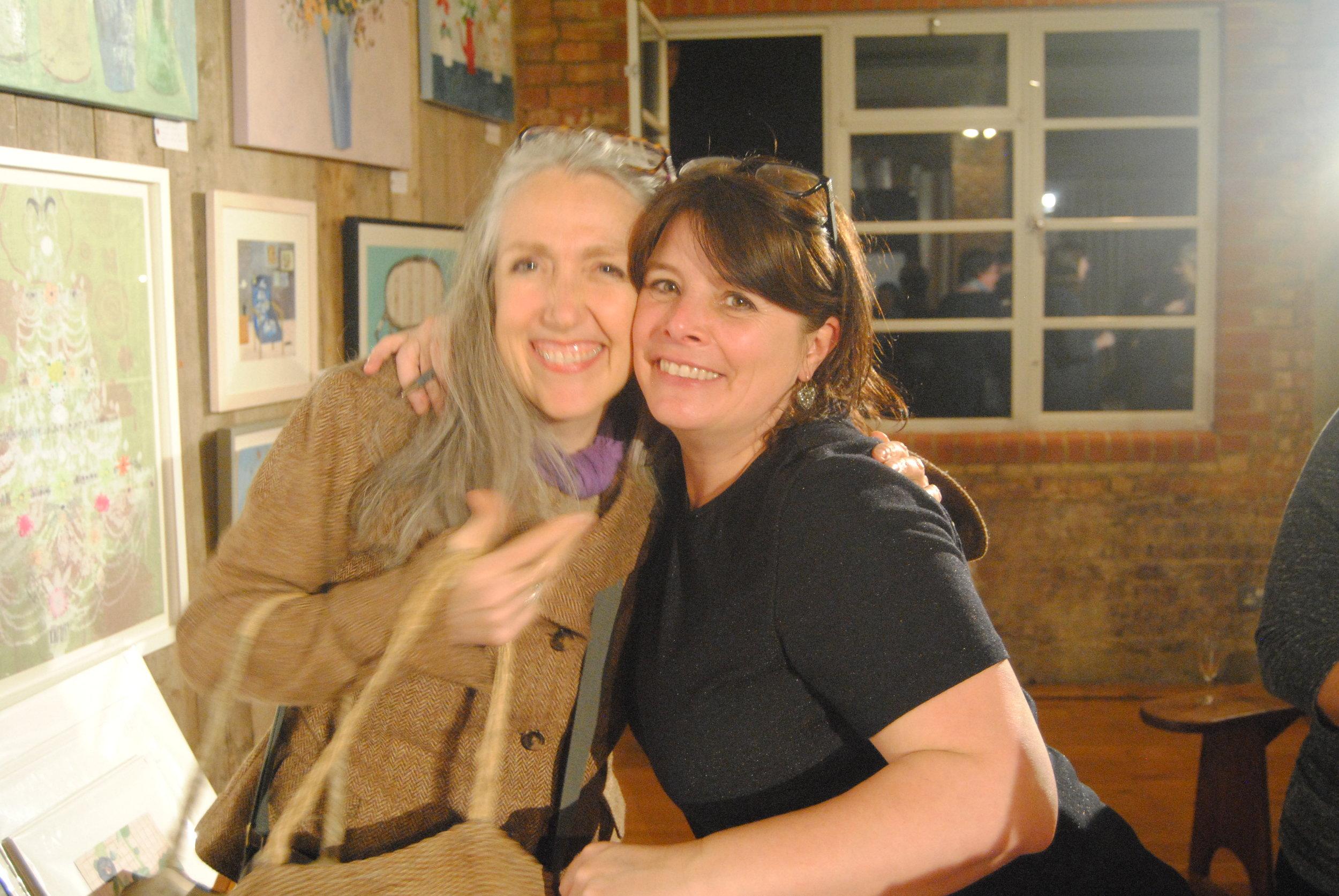 Friend & Artist Clare Mackie