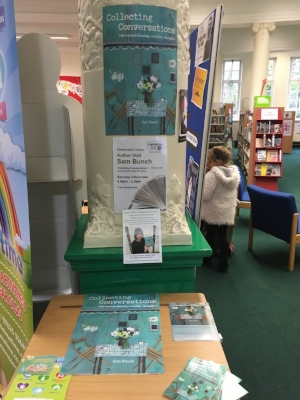 Rawtenstall Library - they did me a display