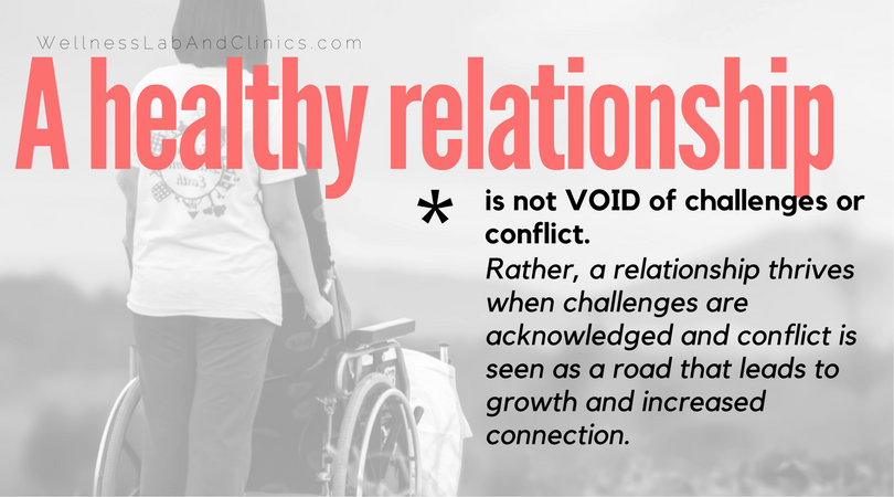 A healthy relationship - couples therapy