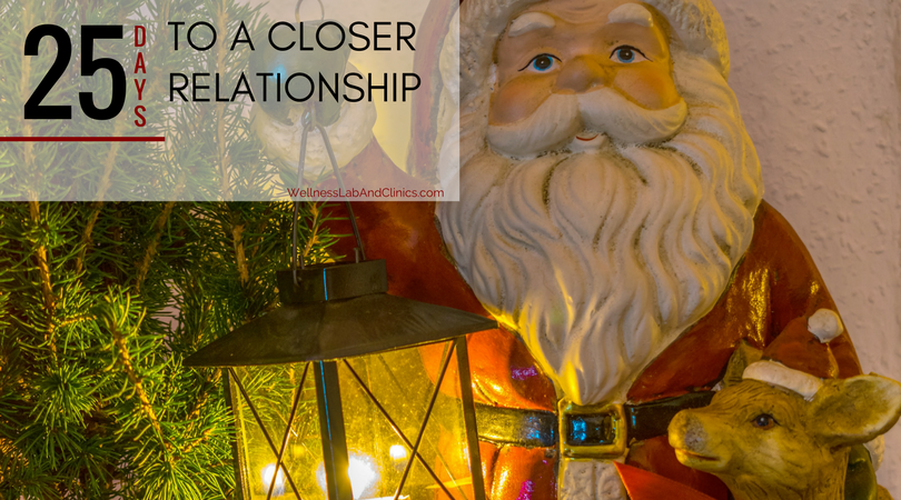 at home couples therapy - christmas