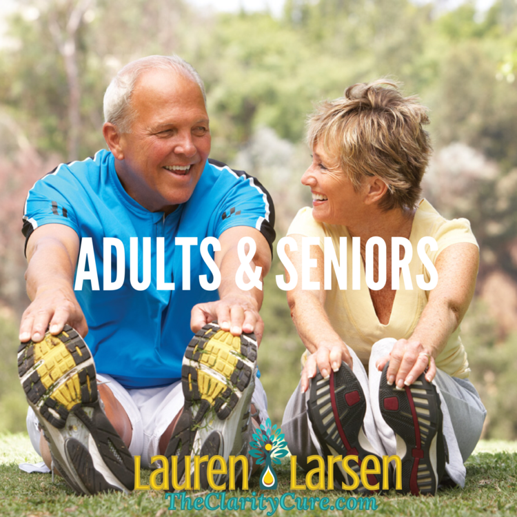 shop-health-coaching-adults-seniors | The Clarity Cure | Lauren Larsen