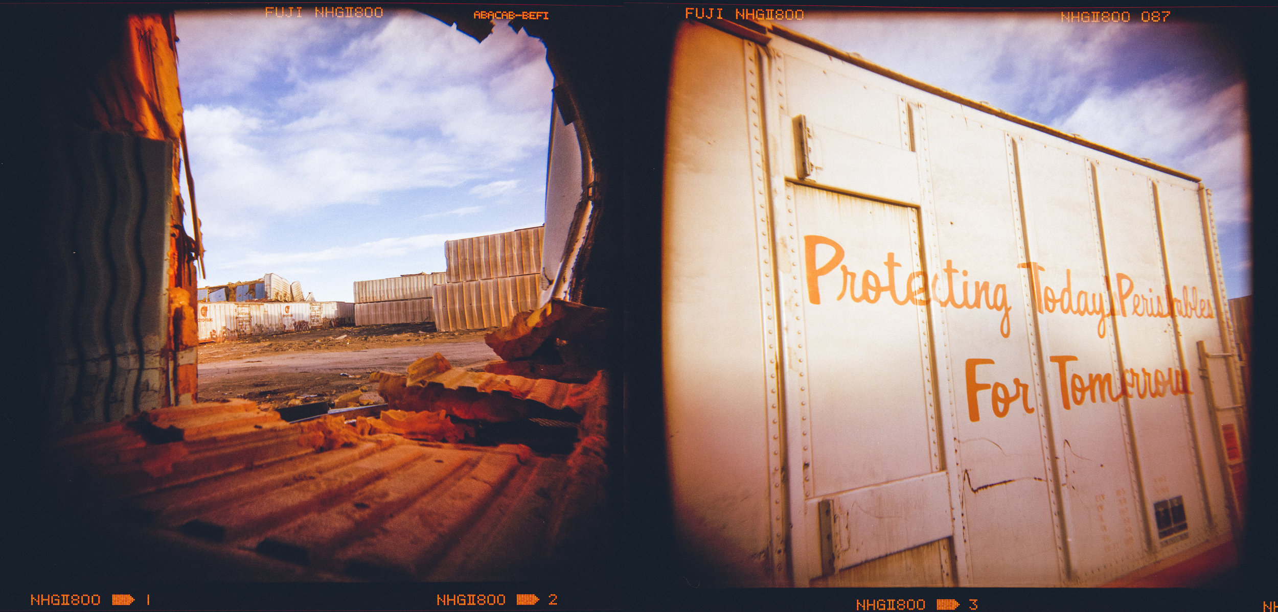 Steel Mill, Pueblo, CO - Holga