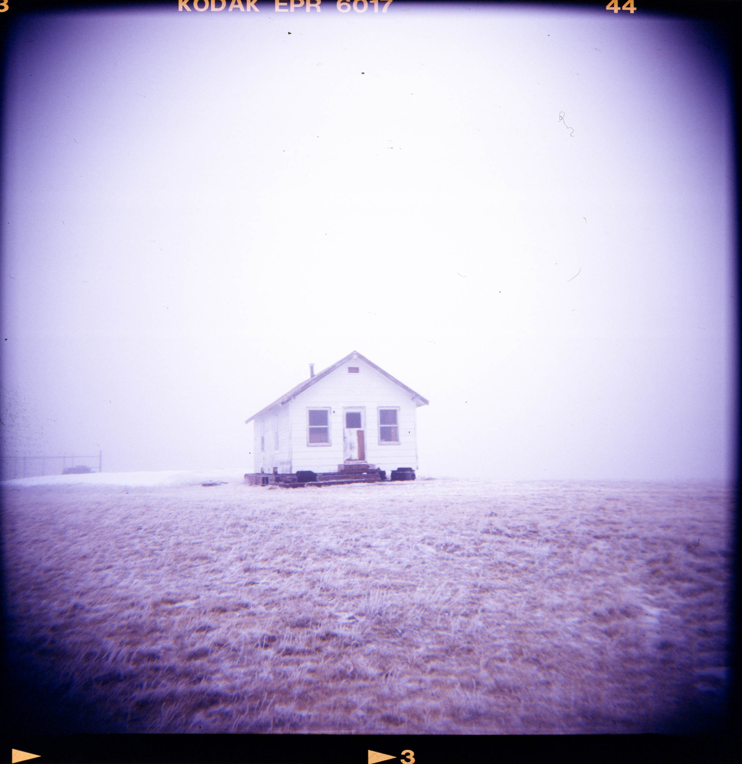 House, Wyoming Holga
