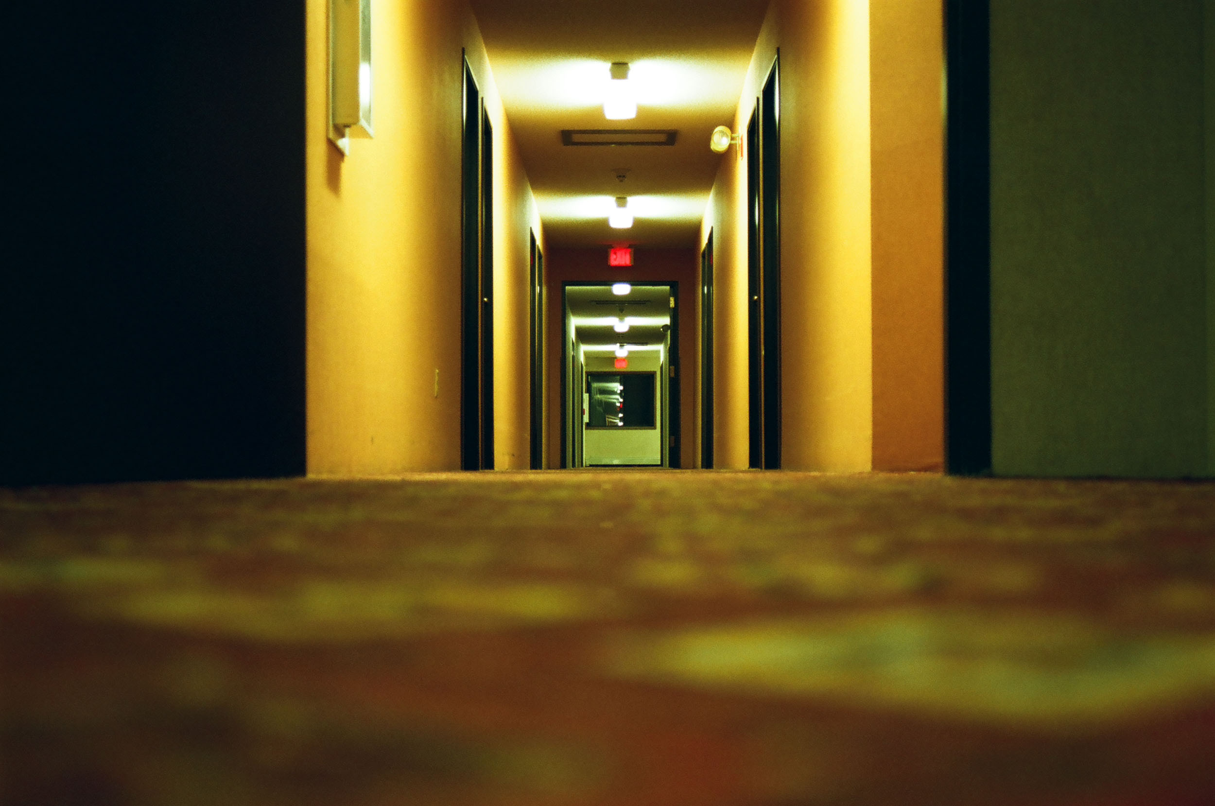Motel Hallway, North Dakota