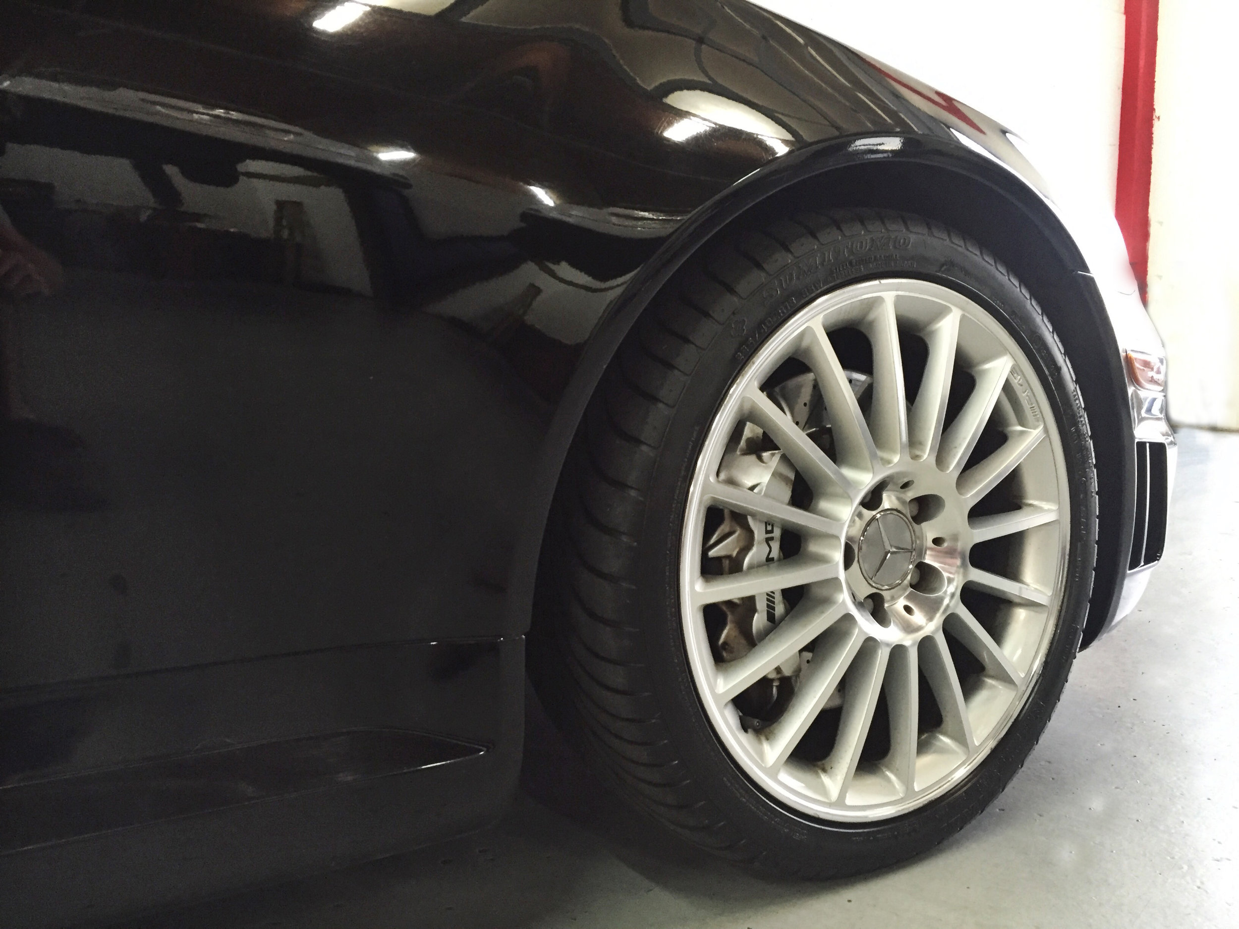 Botta Moto Works Mercedez Benz AMG  SLK55 wheel.jpg