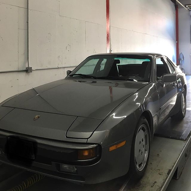 Little 944 action for some upgrades and service