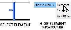 Revit-Hide-Element