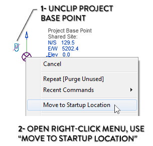 13 Tips To Understand Revit Base Points And Coordinate
