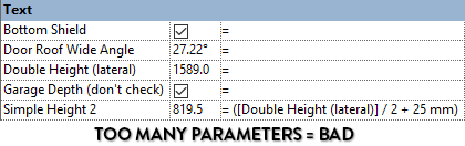too-many-revit-door-parameters