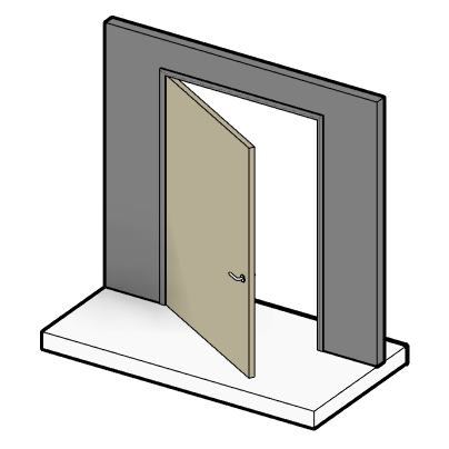 12 Tips To Master Revit Door Families — REVIT PURE