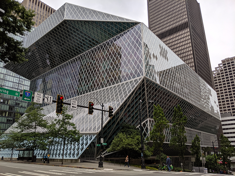 Seattle's Central Library by Rem Koolhas