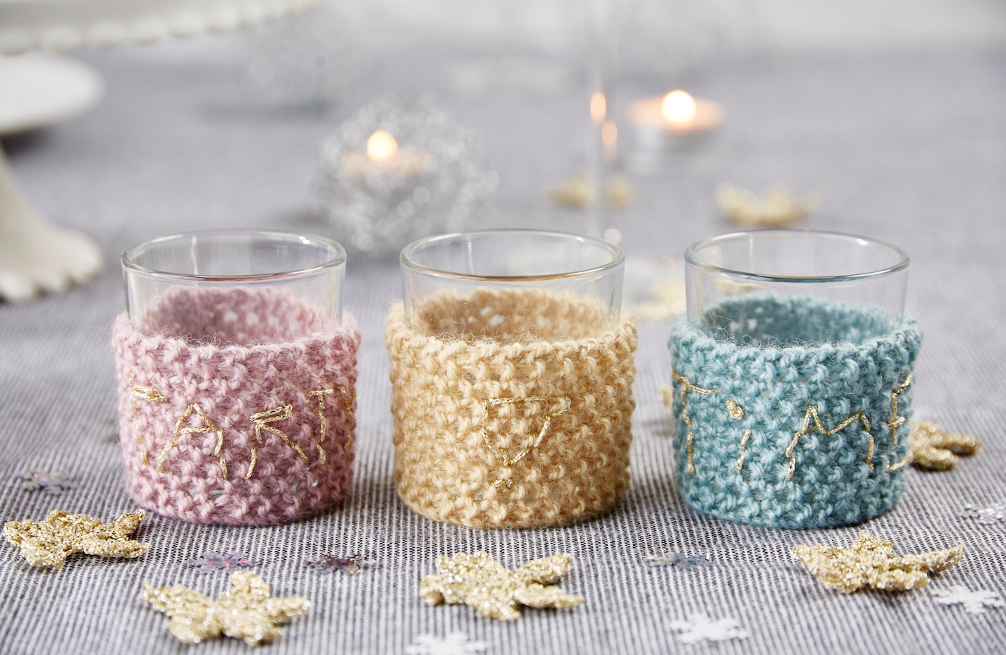 Party Time Tea-light cosies