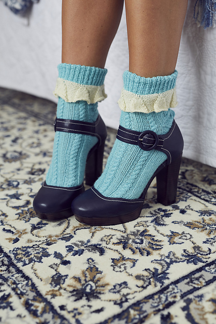 Clophill Socks using WYSpinners Signature 4ply