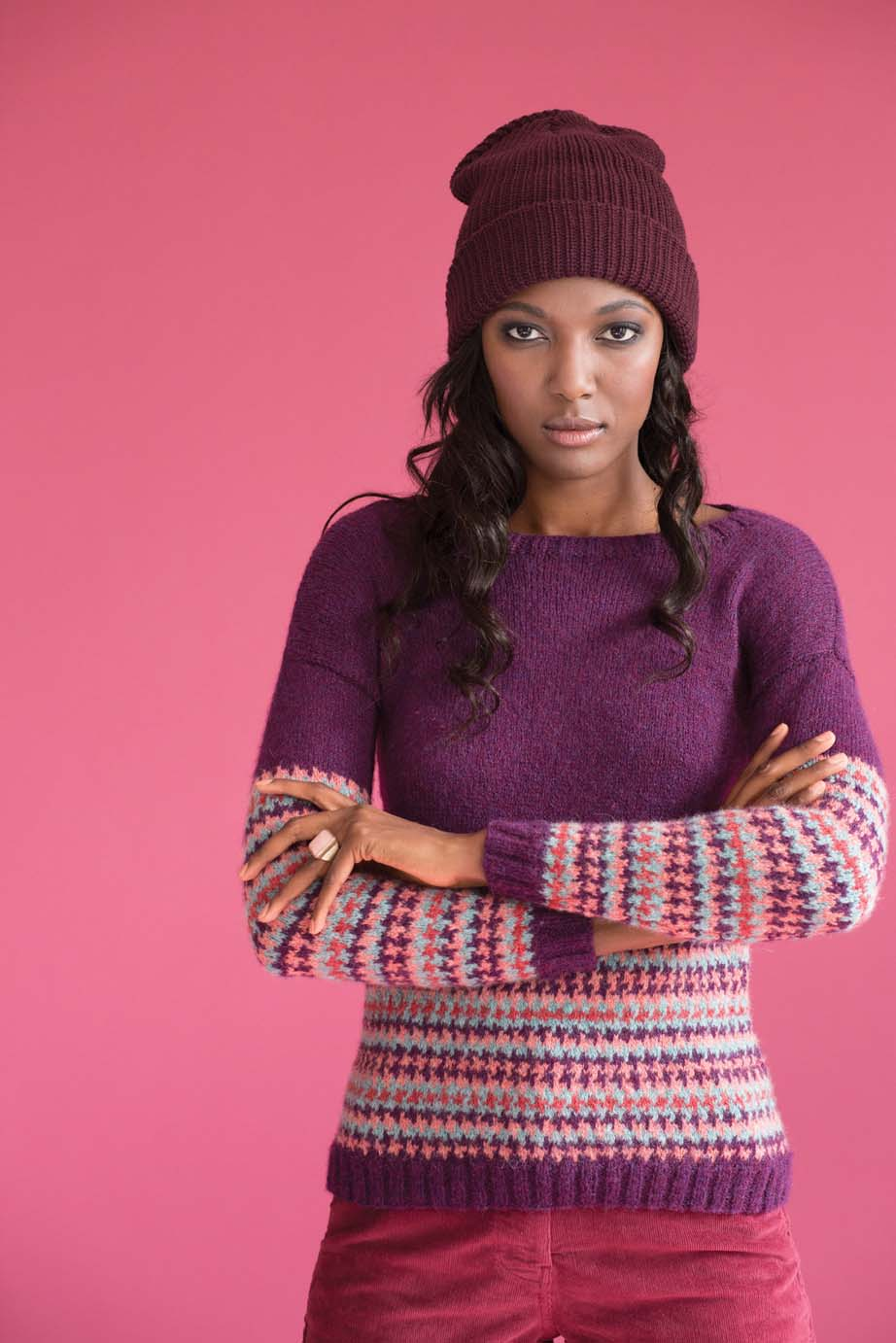 Colourwork Pullover Emma Wright
