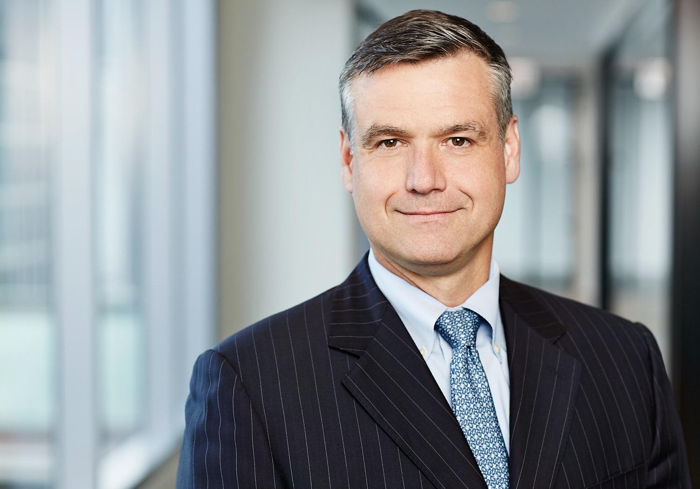 Executive portrait of a banker.
