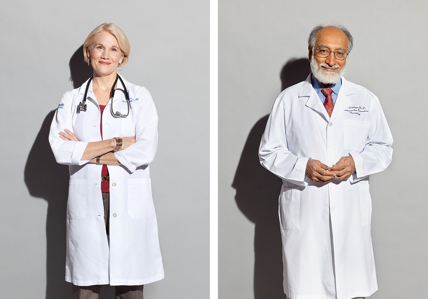 University of Chicago and Northwestern Doctors for Editorial Shoot