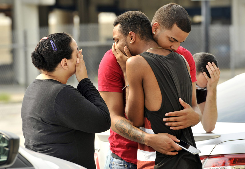 I'm proud to have one of my news photos selected by Thomson Reuters as one of their best 100 images of 2016. It shows  f riends and family members embracing outside the Orlando Police Headquarters after survivors gave statements to detectives during the investigation of a mass shooting at the Pulse night club in Orlando, Florida, June 12, 2016.