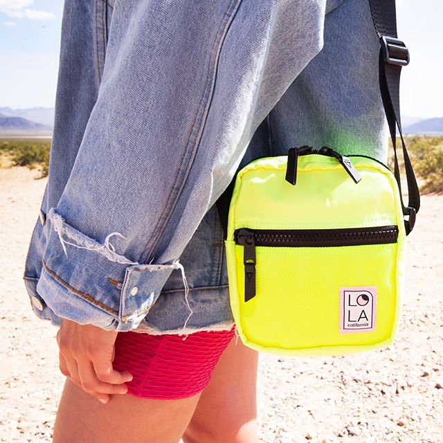 The brighter the better 💥✨ Shop our newest crossbody and all its hot colors!!