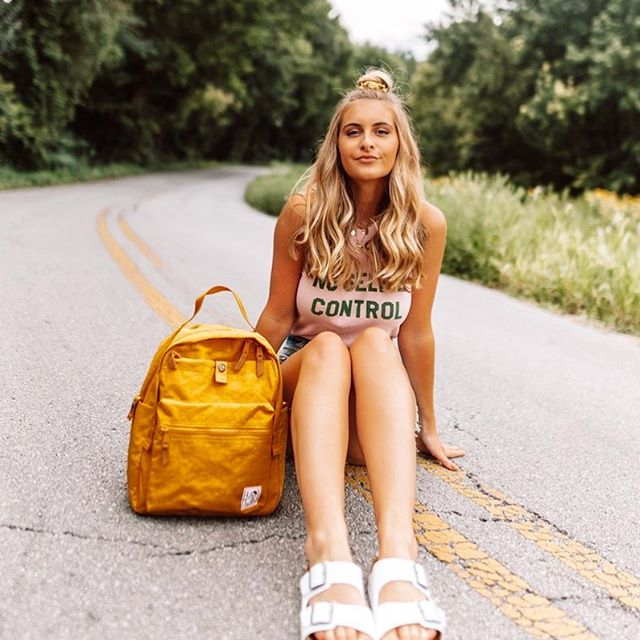 A backpack for all @josie_sanders adventures ✨ • Shop @zappos for tons of Lola styles!