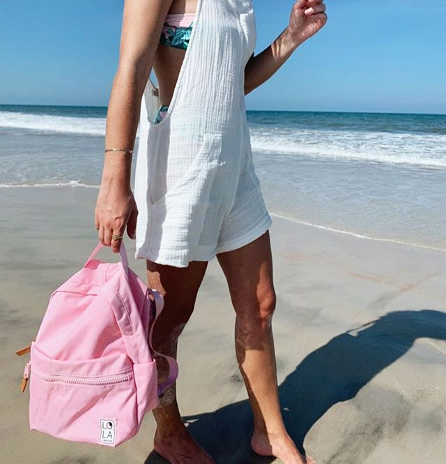 To the beach we go 🌊 • @fashionsensored carrying our Starchild Medium Backpack 💕 from @zappos