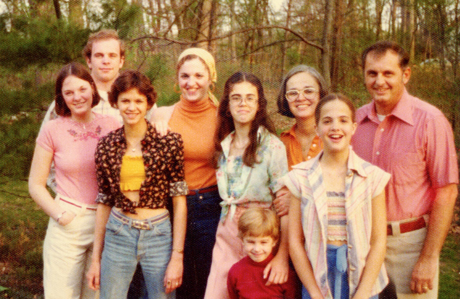 The Range Family c.1976