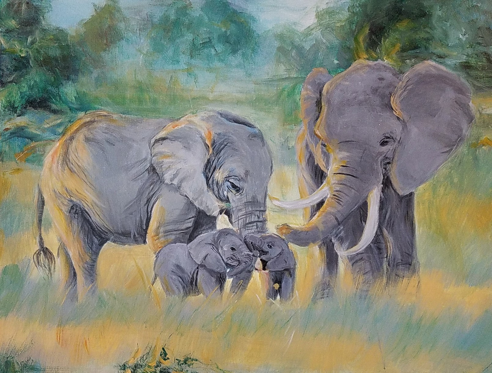 Acrylic Wildlife