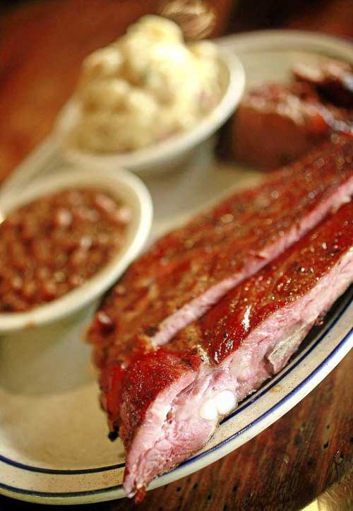 All you can eat ribs at Stone Mill BBQ and Steakhouse