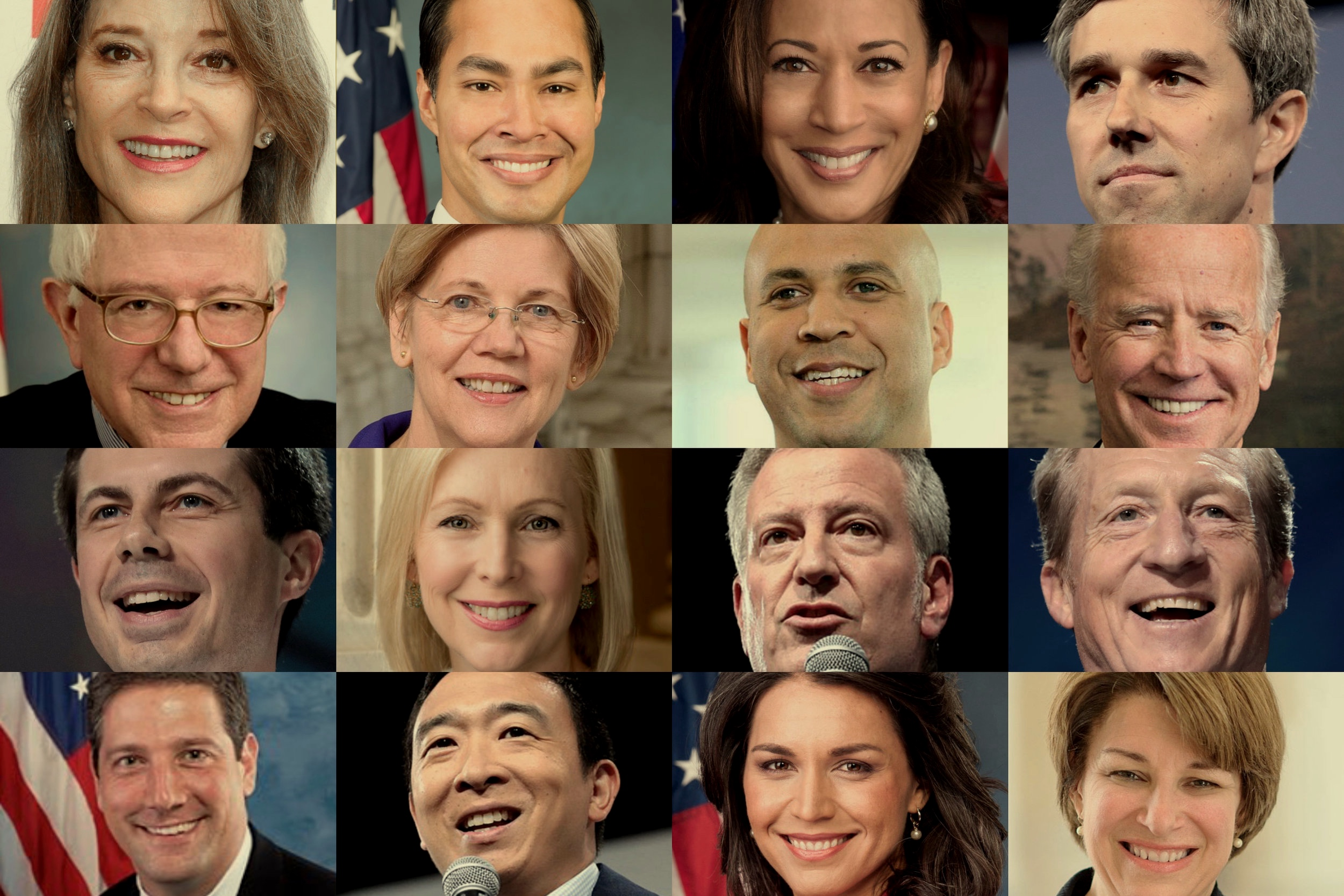 Meet the Candidates 2020   Too many people are running for president. We'll tell you who they are and how many have done funny things on the internet.   Read The Bios