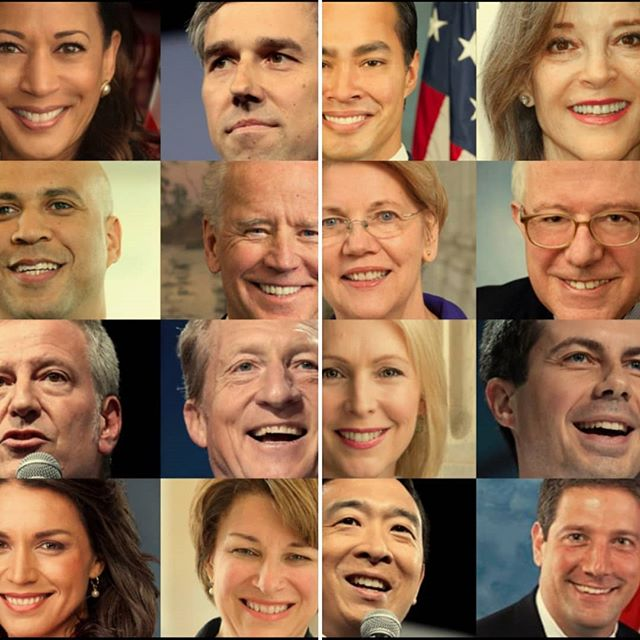 Hello friends! It's now after Labor Day, which means the #democratic #primary is JUST NOW getting serious.  And we get it, you're having trouble knowing the difference between #TimRyan, #MichaelBennett and #JohnDelaney.  We all are.  So we here at BTL are introducing you to all 217 candidates! We'll be releasing a few candidate bios a week, and the first two are already up for your reading pleasure! Link in bio or:  http://www.braintrustlive.com/meetthecandidates2020