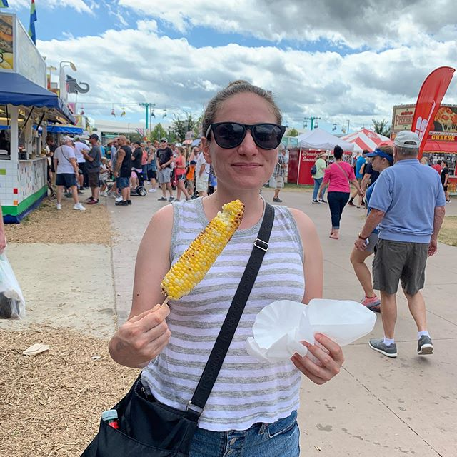 Presidential food tour day 2: No longer running for President in 2020 due to early onset heart attack. Tune in next week for a full tour of the culinary highlights. #iowastatefair #friedoreos #cottoncandy #appleeggroll #mexicancorn #friedveggies