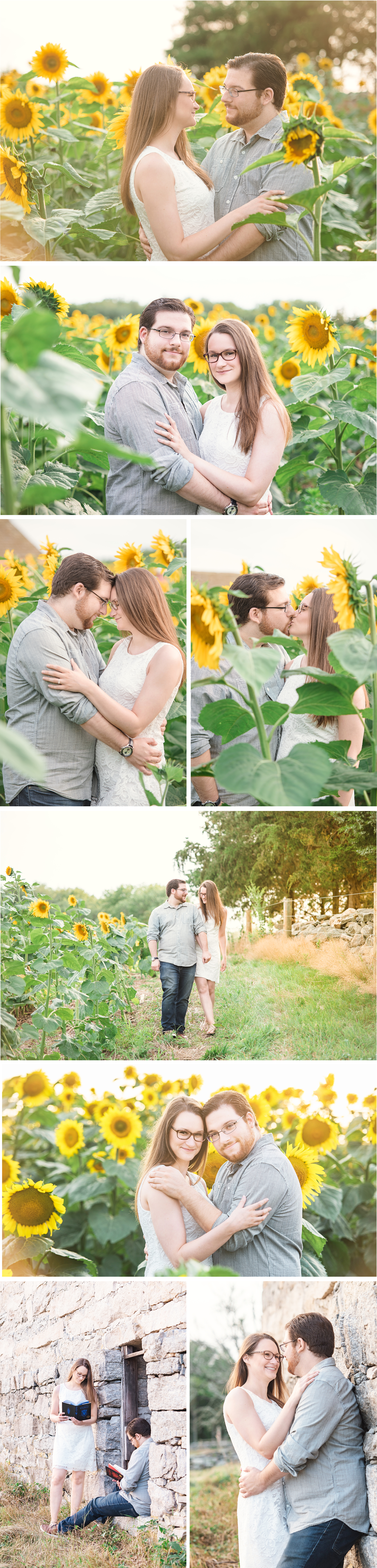 Sunflower Engagement Session