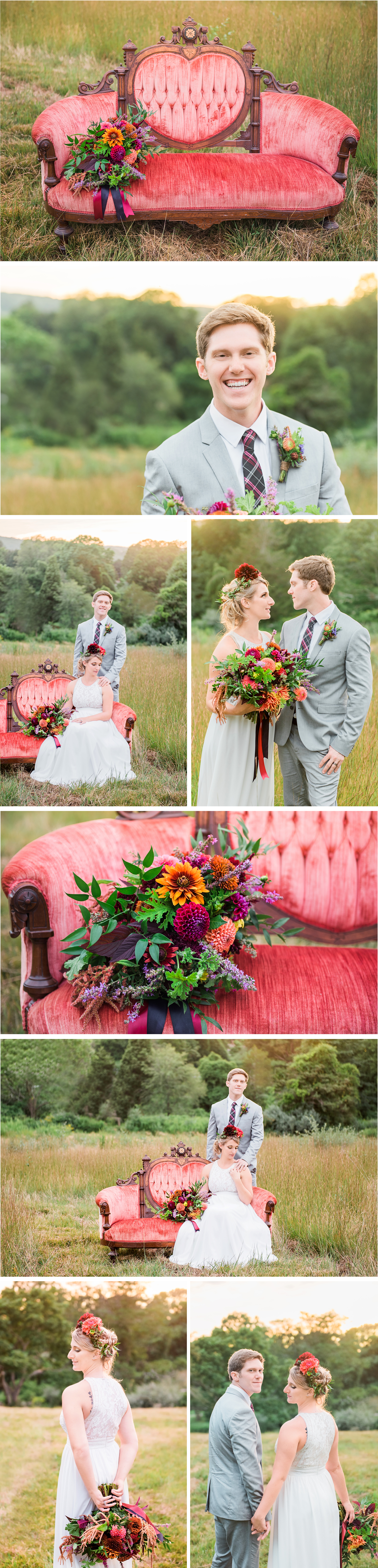Connecticut Boho Bridal Wedding S and P 3