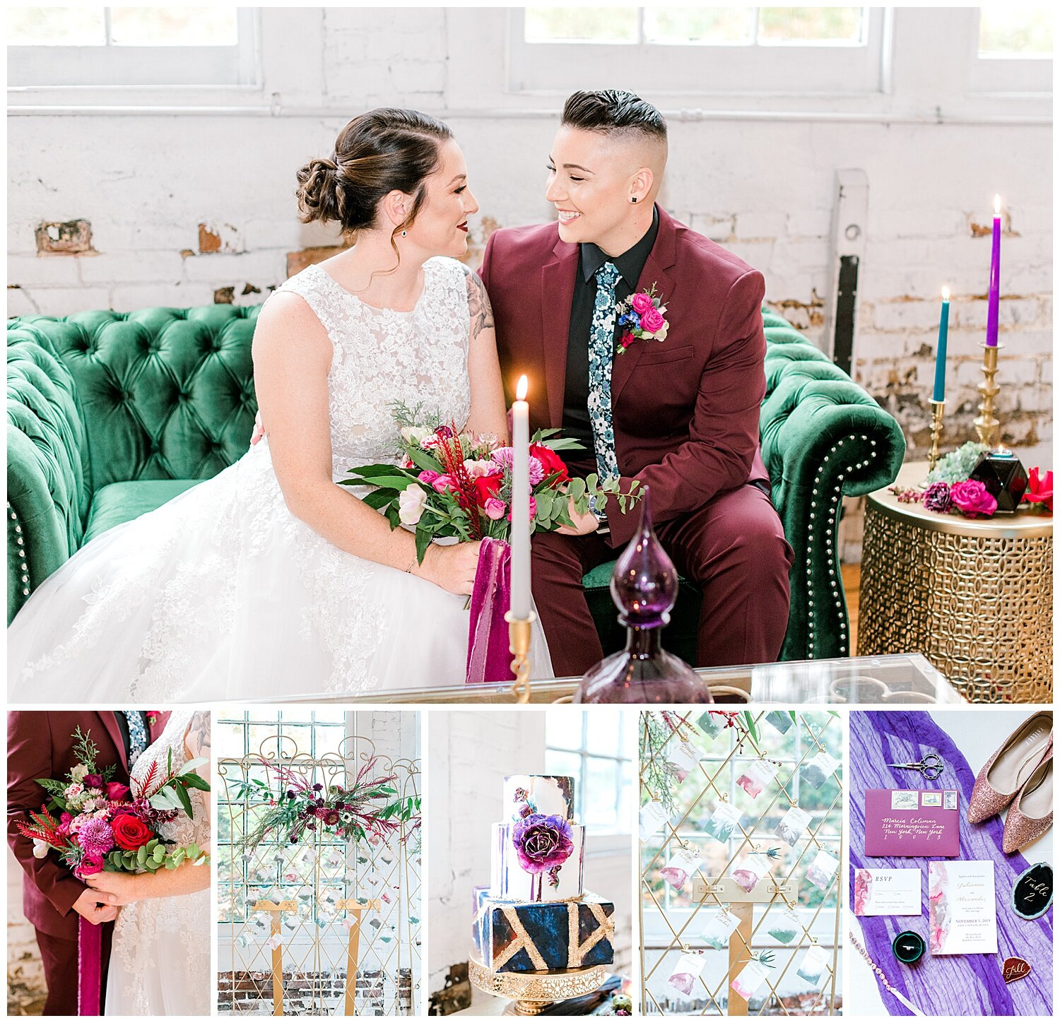 The Lace Factory Wedding Inspiration Editorial | Connecticut