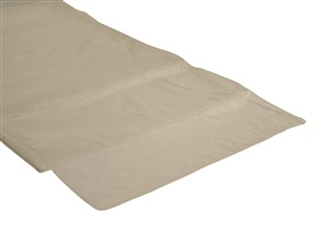 Ivory Organza Table Runner Hire