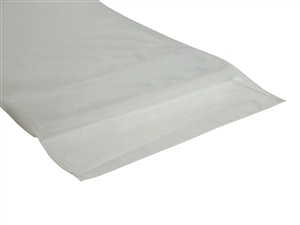 White Organza Table Runner Hire