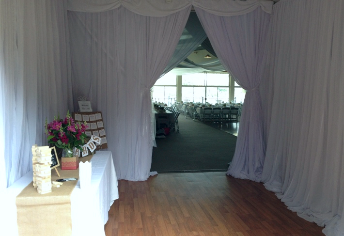 Entry curtain POA