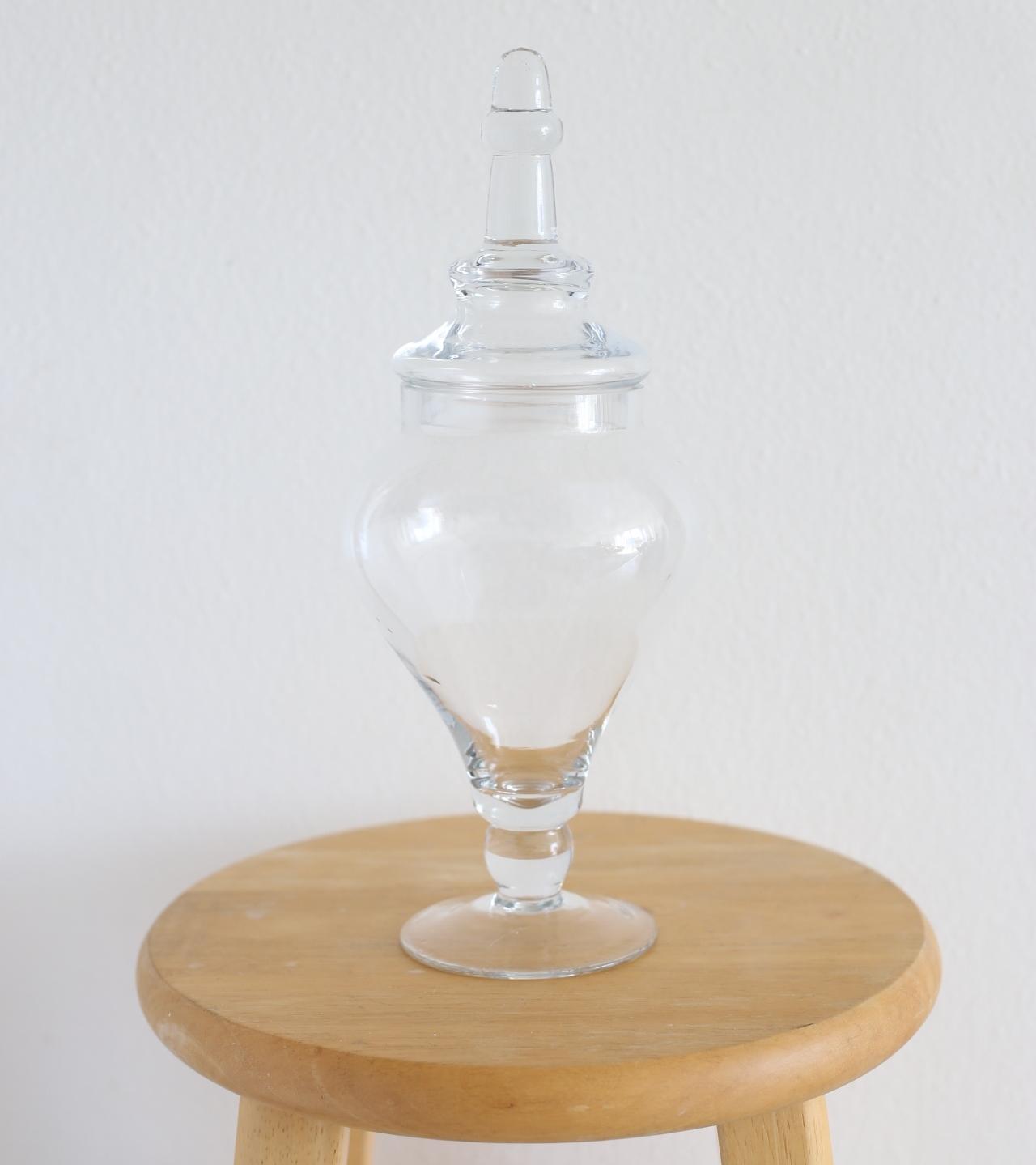 """Apothecary jar - 12.5"""""""