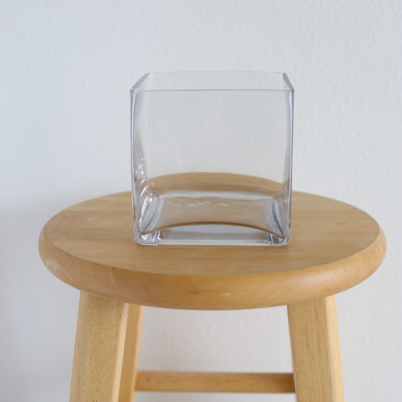 "cube vase - 5"" x 5"""