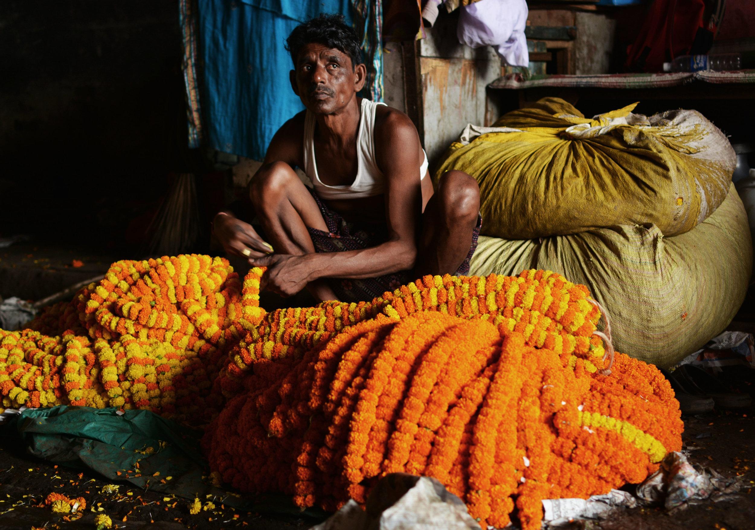 india - man at flowers.jpg