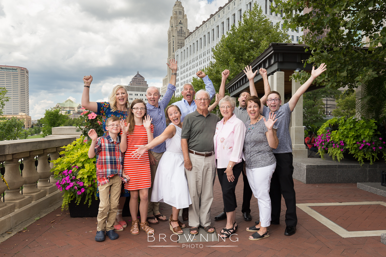 family photography scioto mile